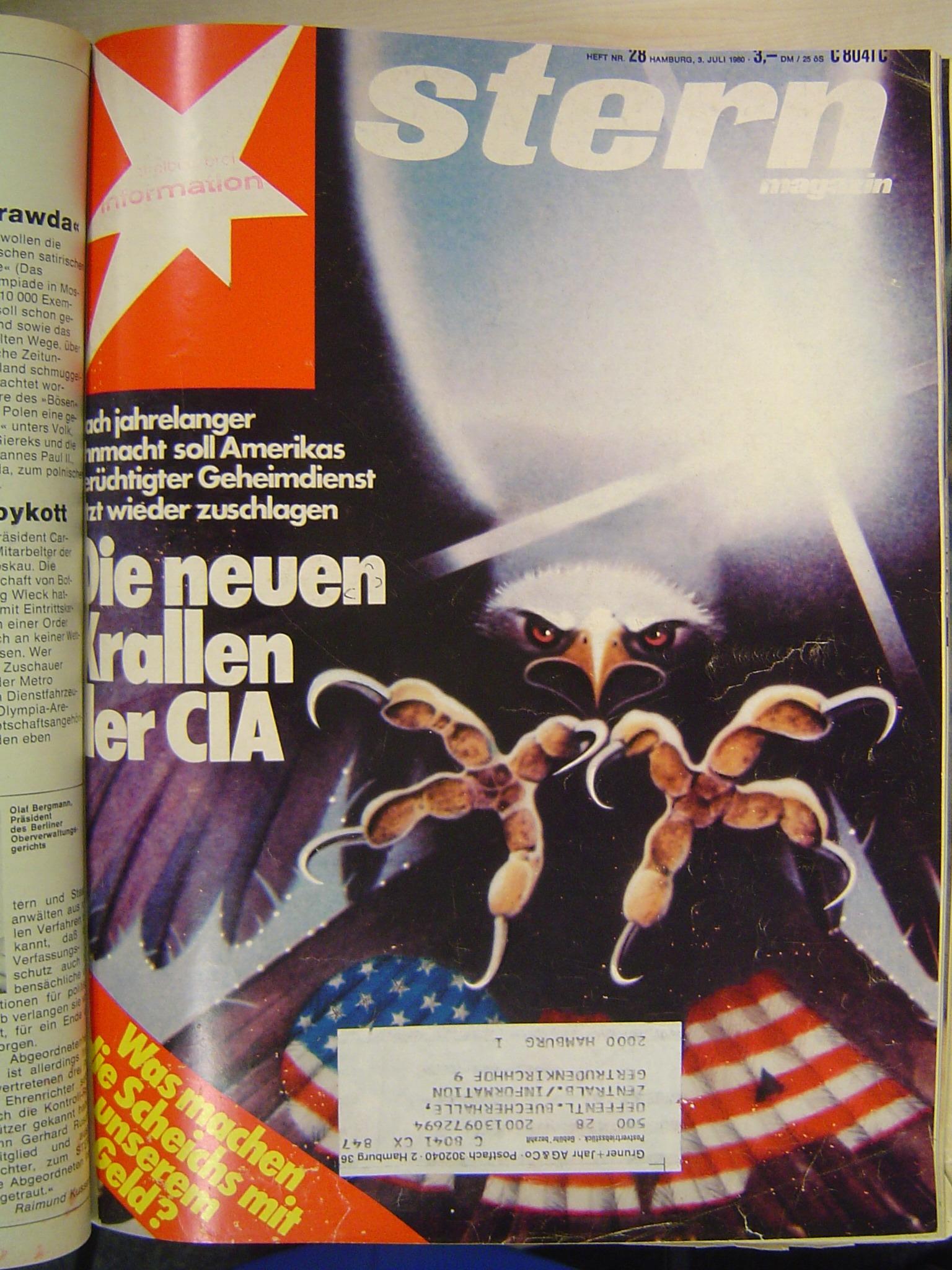 Die neuen Krallen der CIA