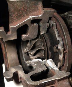 Turbolader Abgasseite, funktionsfähig